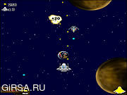 Флеш игра онлайн Звездолет