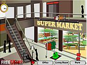 Флеш игра онлайн Смерть Стикмана в магазине / Stickman Death Shopping Mall