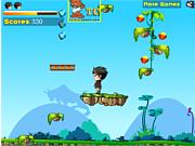 Флеш игра онлайн Приключения Каменного человека / Stone Man Adventure