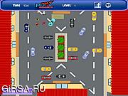 Флеш игра онлайн Парковка автомобилей возле магазина / Store Car Parking