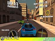 Флеш игра онлайн Уличные Гонки / Street Racing