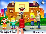 Флеш игра онлайн Уличный баскетбол / Street Basket