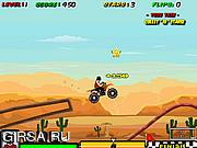 Флеш игра онлайн Мото-маньяк / Stunt Maniac