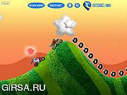 Флеш игра онлайн Мотоциклист / Stunt Rider FOG