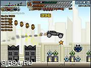 Флеш игра онлайн Сумасшедший / Stunt Crazy