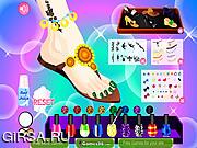 Флеш игра онлайн Стильный педикюр / Stylish Pedicure