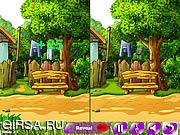 Флеш игра онлайн Найти отличия - Летние цветы