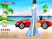 Флеш игра онлайн Summer Magazine Cover