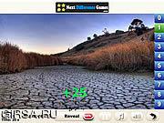 Флеш игра онлайн Летний дождь Найти номера / Summer Rain Find Numbers