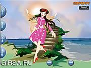 Флеш игра онлайн Фе Dressup лета / Summer Fairy Dressup