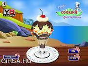 Флеш игра онлайн Мороженое в гавайском стиле