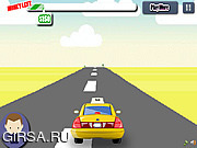 Флеш игра онлайн Супер-такси / Super Awesome Taxi