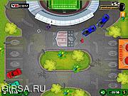 Флеш игра онлайн Парковщик / Super Bowl Valet Parking