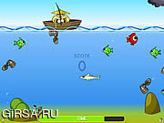 Флеш игра онлайн Супер Рыбалка / Super Fishing's