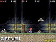 Флеш игра онлайн Супер Марио: Хэллоуин / Super Mario - Halloween