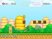 Флеш игра онлайн Super Mario 3: Star Scramble