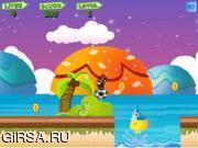 Флеш игра онлайн Super Mario Bouncing 2