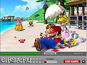 Флеш игра онлайн Super Mario Find Letters