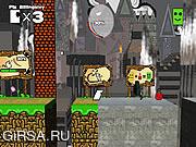 Флеш игра онлайн Супер Пикс Квест / Super Pix Quest