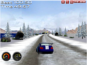 Флеш игра онлайн Супер-ралли / Super Rally Challenge