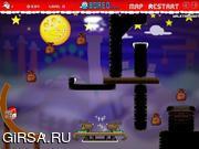 Флеш игра онлайн Super Santa Kicker 2