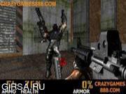 Флеш игра онлайн Сержант - супер стрелок 2