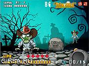 Флеш игра онлайн Супер-охотник на зомби / Super Zombies Hunter
