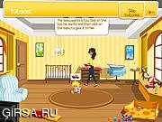Флеш игра онлайн Супер няня младенца / Super Baby Sitter