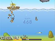 Флеш игра онлайн Супер рыболовство