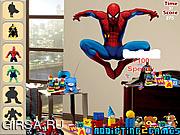 Флеш игра онлайн Супергерои - Найди спрятанные предметы / Superheroes Hidden Object