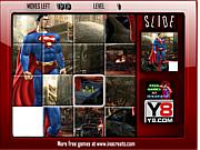 Флеш игра онлайн Супермэн. Пазл / Superman Image Slide