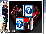 Флеш игра онлайн Superman Memory Challenge