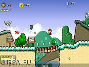 Флеш игра онлайн Super Mario 63