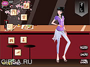 Флеш игра онлайн Sushi Bar Date