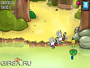 Флеш игра онлайн Болотные Приключения / Swamp Adventure