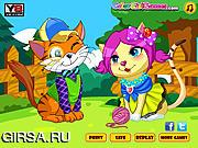 Флеш игра онлайн Милое свидание / Sweet Kitten Date