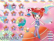 Флеш игра онлайн Радуга / Sweet Rainbow