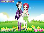 Флеш игра онлайн Сладостное венчание весны / Sweet Spring Wedding
