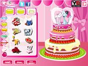 Флеш игра онлайн Свадебный торт 2 / Sweet Wedding Cake 2
