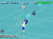 Флеш игра онлайн Swimglows
