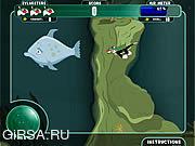 Флеш игра онлайн Сильвестр на Морском Дне