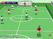 Флеш игра онлайн Настольный Футбол