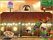 Флеш игра онлайн Разгроми толстяков! / Taco Fu
