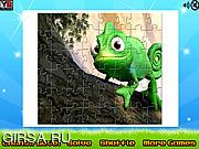 Флеш игра онлайн Веселый пазл / Tangled Puzzle Jigsaw