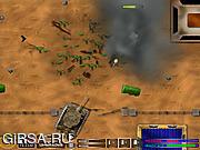 Флеш игра онлайн Танковые сражения / Tank Warfare