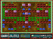 Флеш игра онлайн Город баков / Tanks City
