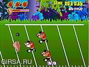 Флеш игра онлайн Остервенение футбола Taz / Taz Football Frenzy