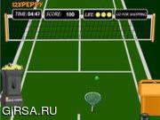 Флеш игра онлайн Теннис Весело
