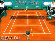 Флеш игра онлайн Теннис Кубок Звезд