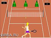 Флеш игра онлайн Теннисный Гуру